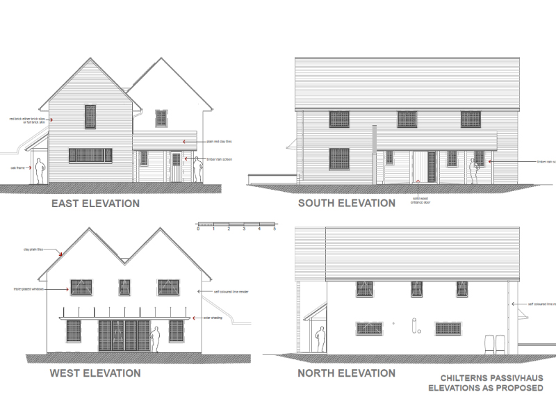 projects at the beginning - view of plans