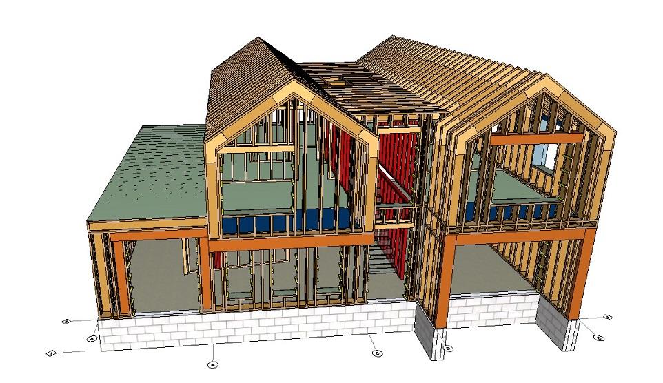 PH15 timber frame design