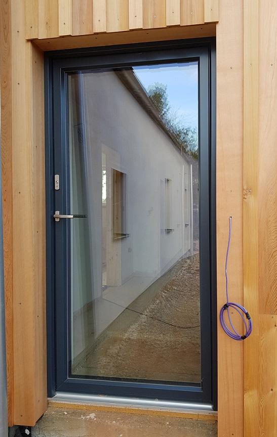 PH15 Glazed back door